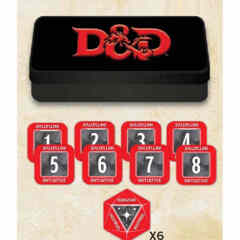 DUNGEONS AND DRAGONS TOKEN SET: DUNGEON MASTER (48 TOKENS)
