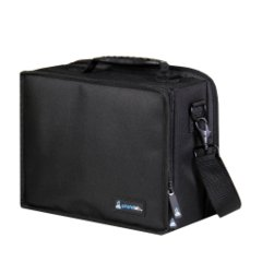 Black Small Card Case - 2-Row Armor Tray + 6 Dividers