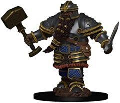 DUNGEONS AND DRAGONS: ICONS OF THE REALM PREMIUM FIGURE - MALE DWARF FIGHTER