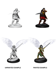 D&D Nolzur's Marvelous Miniatures: Aasimar Fighter Female