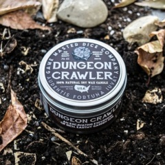Dungeon Crawler Gaming Candle - 8oz