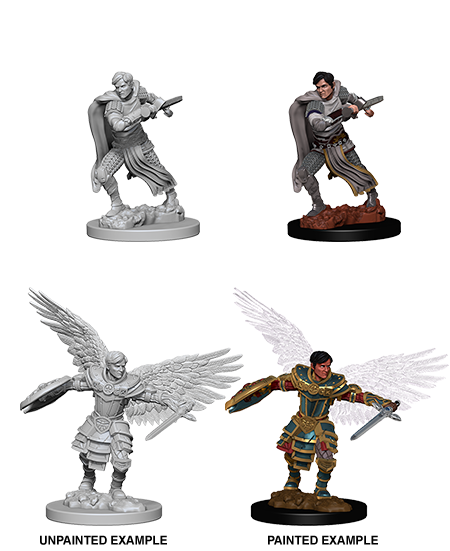 D&D Nolzurs Marvelous Miniatures: Aasimar Fighter Male