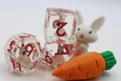 Backyard Bunny RPG Dice Set