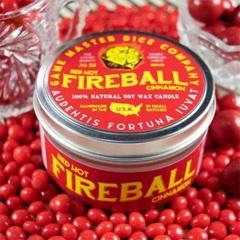 Fireball Gaming Candle - 8oz