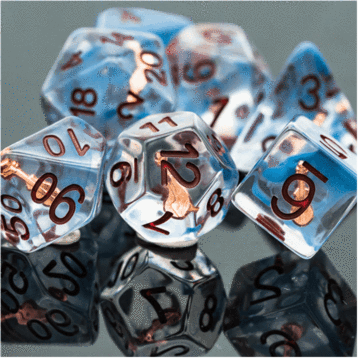 Bards Lute Class RPG Dice Set