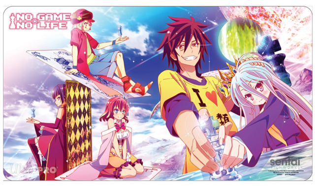 Ultra Pro PLAY MAT No Game No Life CHESS