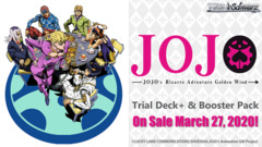 Jojo's Bizarre Adventure: Golden Wind Trial Deck+ (ENGLISH) -Preorder