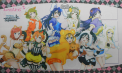Weiss Schwarz Love Live DX Playmat (Case Exclusive)