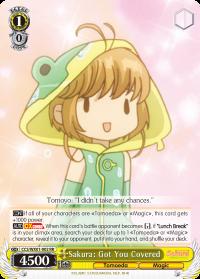 CCS/WX01-002 RR  Sakura: Got You Covered