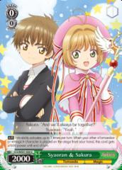 CCS/WX01-038 U  Syaoran & Sakura