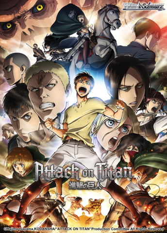 Attack on Titan Vol. 2 Booster Box (ENGLISH)