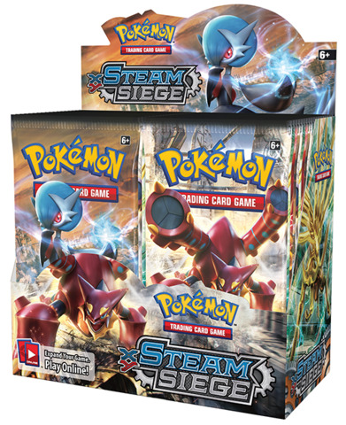 XY Steam Siege Booster Box