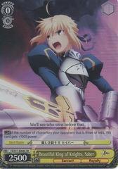 FZ/S17-E006S SR Beautiful King of Knights, Saber