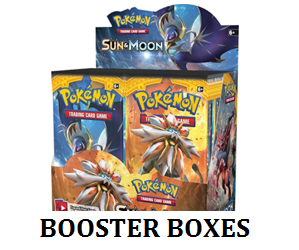 Pokemon booster box label