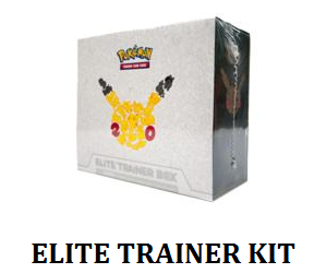 Elite trainer kit label