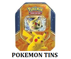 Pokemon tins label
