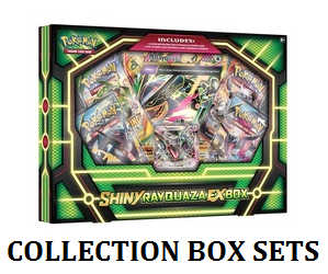 Pokemon collection box set label