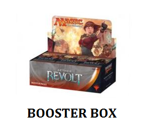 Mtg booster box label