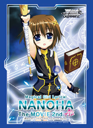 Bushiroad Point Redemption Nanoha Movie 2nd As Hayate Sleeves