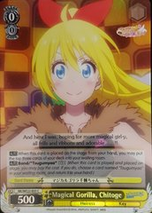 NK/WE22-E03 C Magical Gorilla, Chitoge - Foil