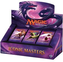 Iconic Masters Booster Box (24 packs) - ENGLISH