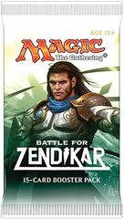 Battle for Zendikar Booster Pack (15 cards) - ENGLISH