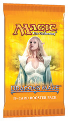 Dragon's Maze Booster Pack (15 cards) - ENGLISH