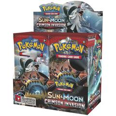 Sun & Moon 4 Crimson Invasion Booster Box