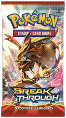 XY Break Through Booster Pack
