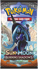 Sun & Moon 3 Burning Shadows Booster Pack