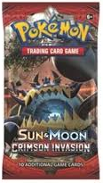 Sun & Moon 4 Crimson Invasion Booster Pack