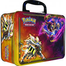 Pokemon Collector's Chest 2017 Solgaleo & Lunala