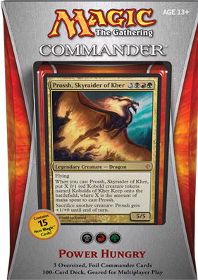 Commander Deck 2013 Power Hungry