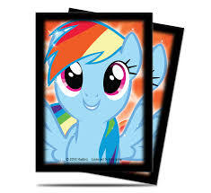 Ultra Pro Standard Deck Protector Sleeves (65 ct) - My Little Pony Rainbow Dash