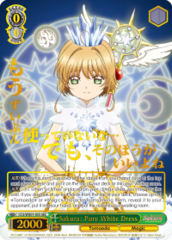 CCS/WX01-035 SEC Sakura: Pure White Dress