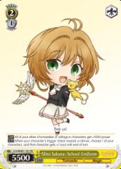 CCS/WX01-101 PR  Mini Sakura: School Uniform