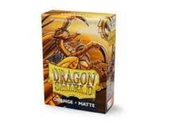 Dragon Shield Japanese Sized Card Sleeves (60 Ct)- Matte Orange