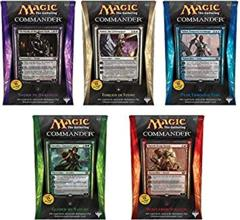 Commander Deck 2014 Set of 5