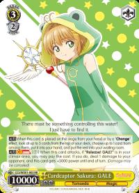 CCS/WX01-003 RR  Cardcaptor Sakura: GALE