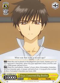CCS/WX01-011 R  Toya: Concerned Big Brother