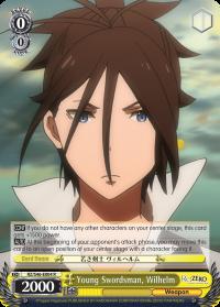 RZ/S46-E004 R  Young Swordsman, Wilhelm