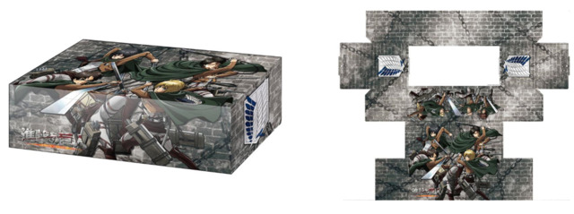 Bushiroad Storage Box Collection Vol. 209 Attack on Titan