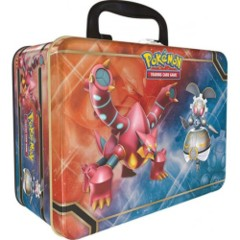 Pokemon Collector's Chest 2016 Volcanion & Magearna