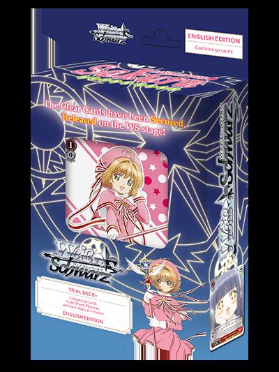 Cardcaptor Sakura Clear Card Trial Deck Plus (English Edition)
