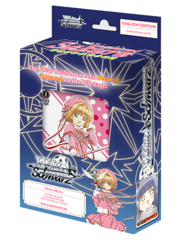 Cardcaptor Sakura Clear Card Trial Deck Plus (Pre-Order February 22nd)
