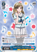 "BD/W47-TE18a TD ""Poppin'Party"" Arisa Ichigaya"