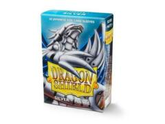 Dragon Shield Mini Card Sleeves (60 ct) - Silver Matte