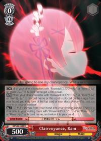 RZ/S46-E033 R  Clairvoyance, Ram