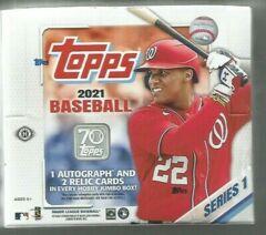2021 Topps Series 1 Baseball Jumbo Hobby Box