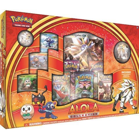 Alola Collection RED